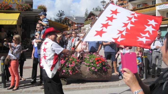 crans montana flag