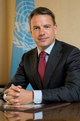 Christian Bach, the recently appointed Executive Secretary of UNECE