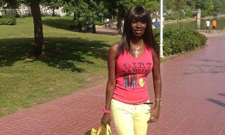 Martina Johnson, on bail in Belgium but no longer required to wear an e-bracelet. Photo Courtesy of Nordic African News