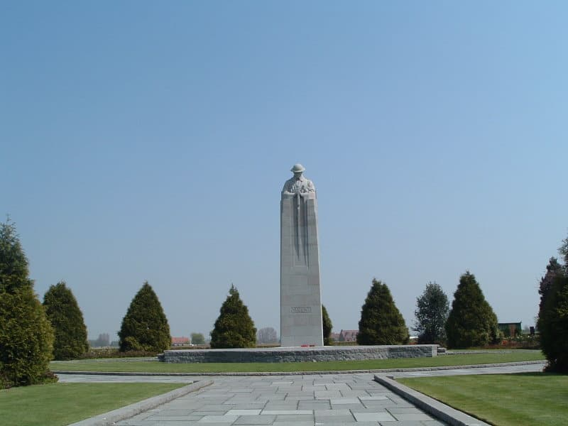 The Canadian World War One memorial.