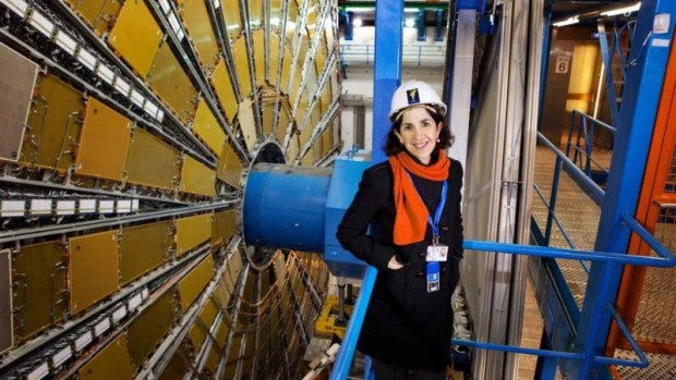Fabiola Gianotti, named as the new director general of CERN