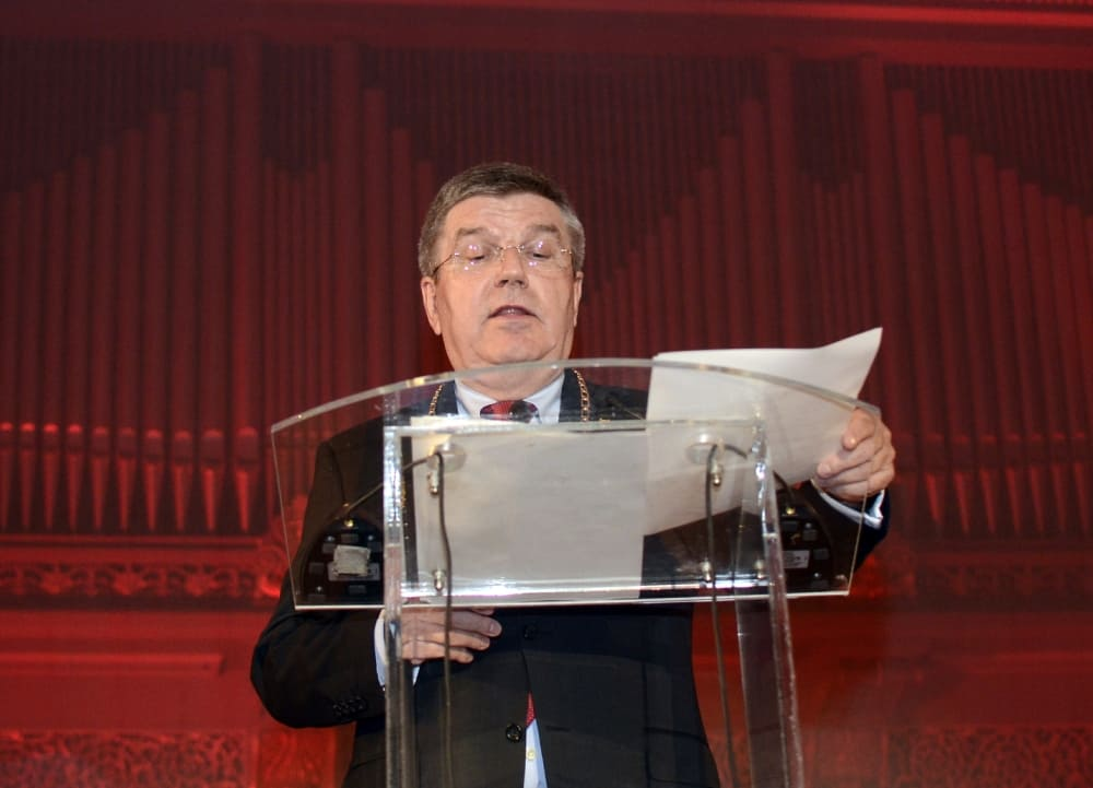 Thomas Bach, President of the International Olympic Committee