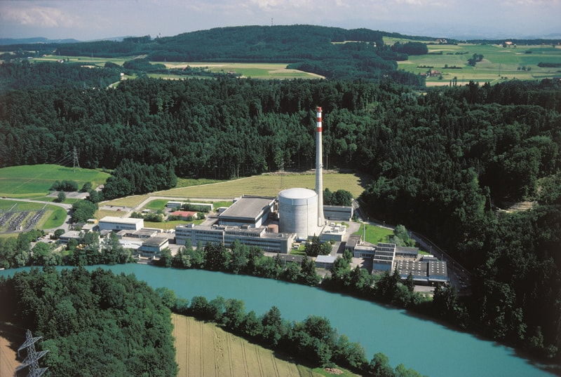 Mühleberg nuclear power station is the oldest in the world