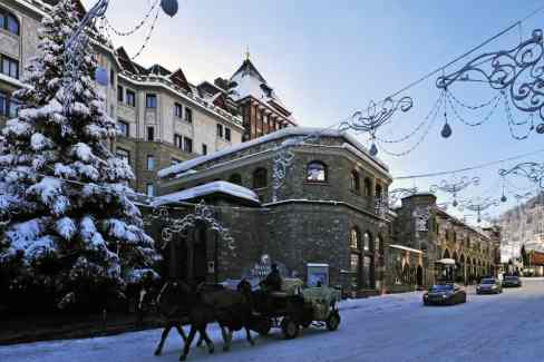 St Moritz, cheaper than New York, and certainly more cheerful at Christmas
