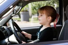 Child-driving