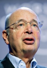 """<a href=""http://commons.wikimedia.org/wiki/File:Klaus_Schwab_-_World_Economic_Forum_Annual_Meeting_Davos_2007_cropped.jpg#mediaviewer/File:Klaus_Schwab_-_World_Economic_Forum_Annual_Meeting_Davos_2007_cropped.jpg"">Klaus Schwab - World Economic Forum Annual Meeting Davos 2007 cropped</a>"" by <a rel=""nofollow"" class=""external text"" href=""http://flickr.com/people/15237218@N00"">World Economic Forum</a> - originally posted to <a href=""//commons.wikimedia.org/wiki/Flickr"" title=""Flickr"" class=""mw-redirect"">Flickr</a> as <a rel=""nofollow"" class=""external text"" href=""http://flickr.com/photos/15237218@N00/374710594"">Klaus Schwab - World Economic Forum Annual Meeting Davos 2007</a>. Licensed under <a title=""Creative Commons Attribution-Share Alike 2.0"" href=""http://creativecommons.org/licenses/by-sa/2.0"">CC BY-SA 2.0</a> via <a href=""//commons.wikimedia.org/wiki/"">Wikimedia Commons</a>."