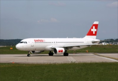 Swiss air Geneva