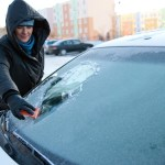 This vegetable keeps ice off your windscreen