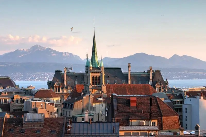 Lausanne under spotlight