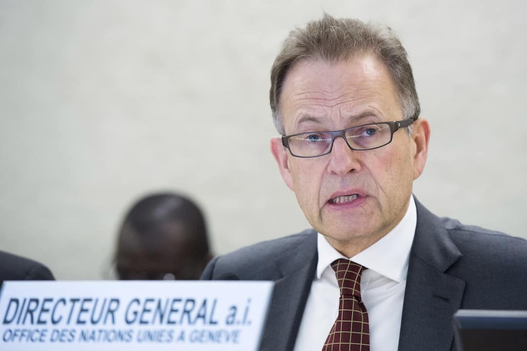 Michael Moller, Acting Director-General of United Nations Office at Geneva