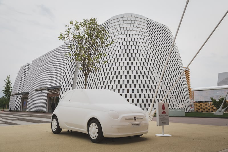 © Tixtis | Dreamstime.com - Mock Fiat 500 Car At Expo 2105 In Milan, Italy