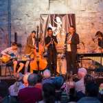 Jazz under the rocks… of an ancient fort
