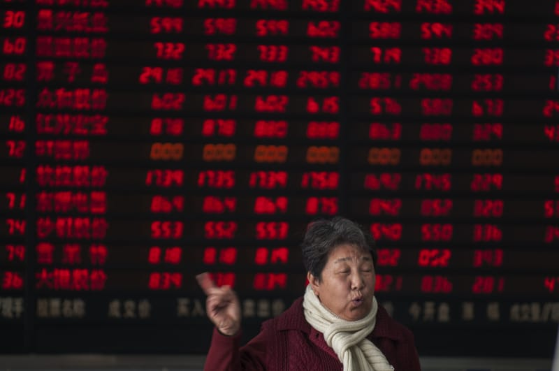 China concerns and European banks drive shares down again