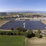 How many solar panels does it take to power a whole town?