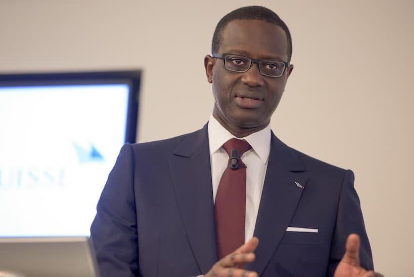 Tidjane Thiam 2015 Credit Suisse