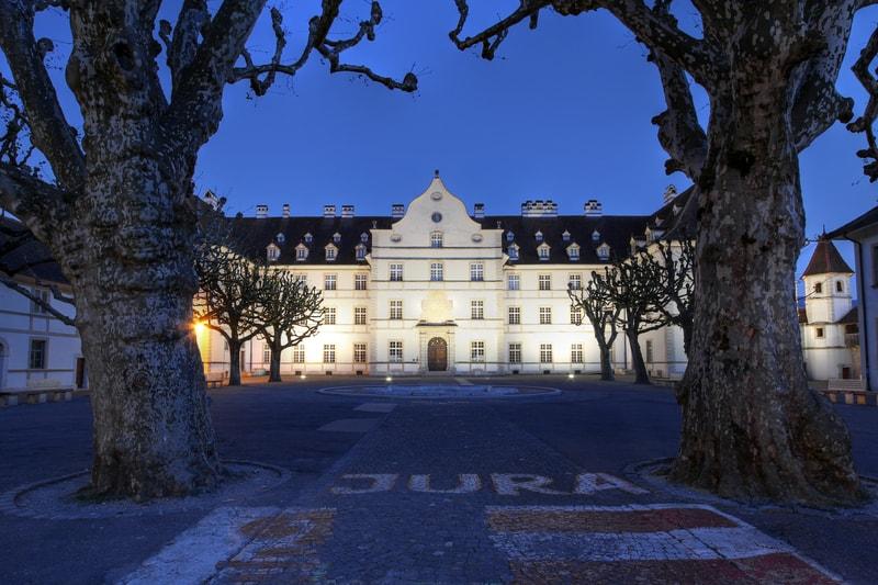 Chateau de Delemont Jura - © Mihai-bogdan Lazar   Dreamstime.com