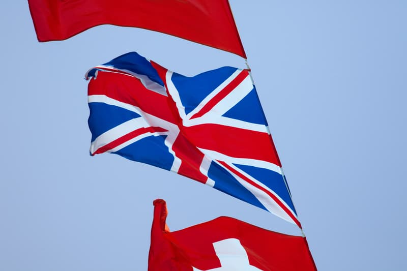 English in Switzerland