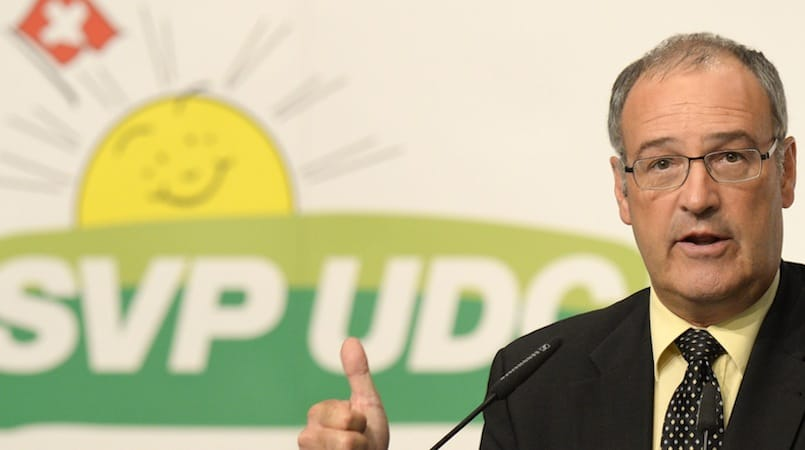 Guy Parmelin, UDC Vaud