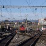 Man dies after kicking a train in Lausanne