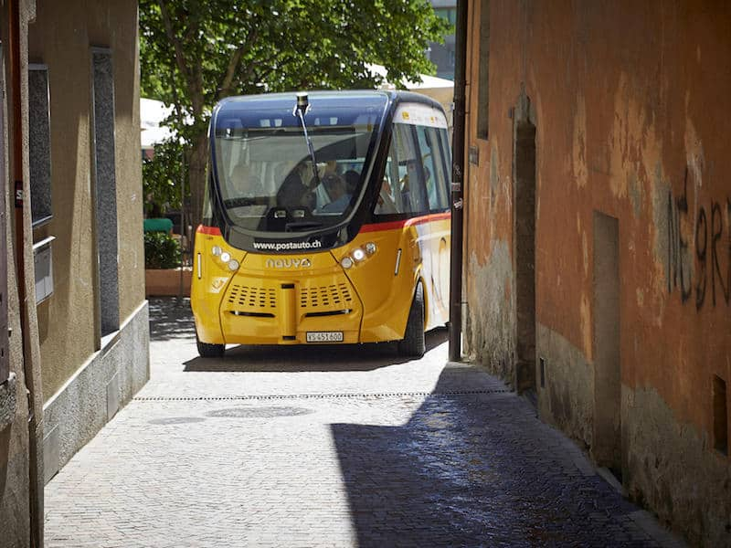Driverless bus Switzerland Sion_2