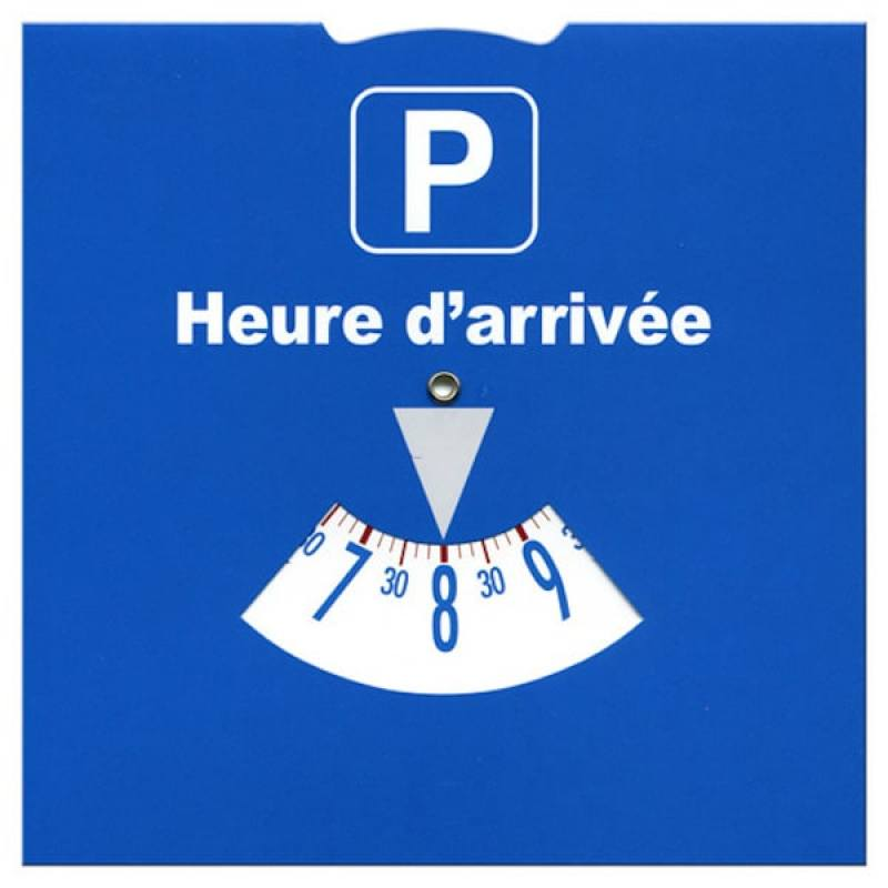 French parking disk