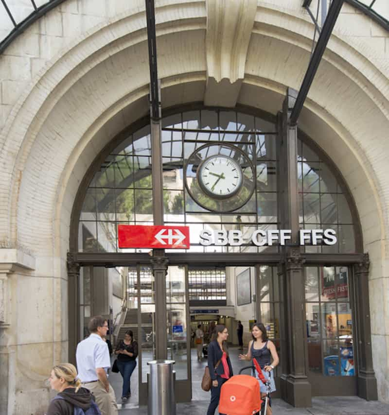 Vevey train station - © Ciolca | Dreamstime.com