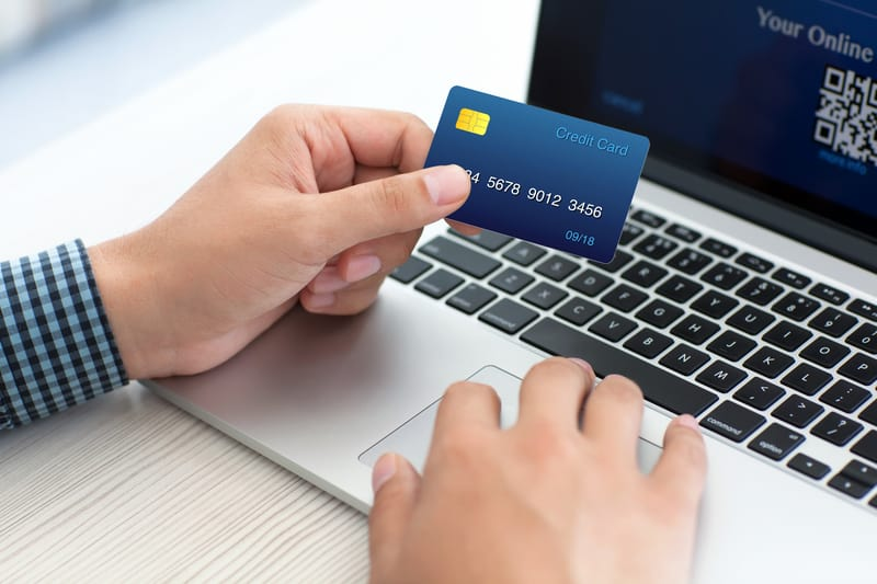 Free credit card for online shopping