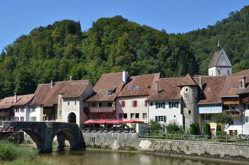 Saint-Ursanne, Canton of Jura_© Astra490 | Dreamstime.com