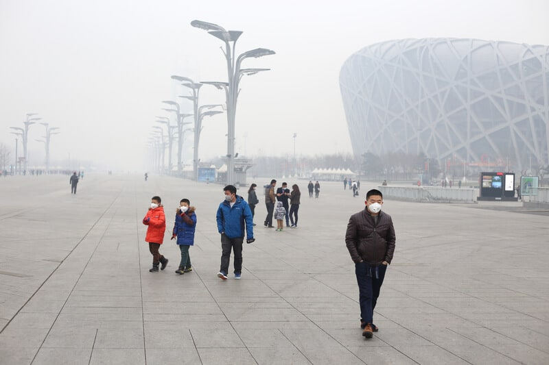 Beijing air pollution © Xi Zhang | Dreamstime.com