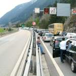 Swiss highways already overloaded with Easter traffic