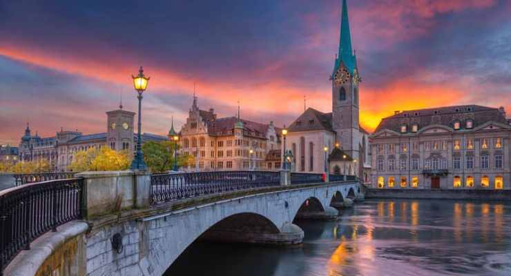 Switzerland sizzles on longest day of the year