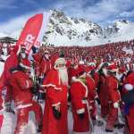 Verbier breaks Santa record