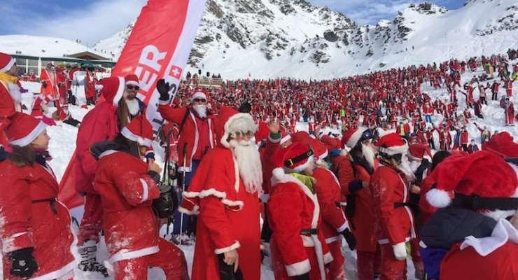 Verbier breaks Santa record