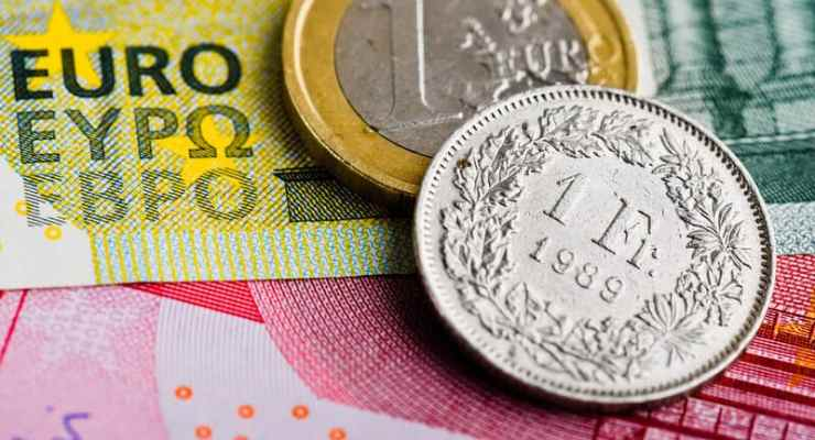 Swiss franc could hit 1.22 by year end, according to economists