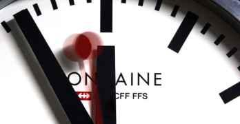 Swiss clocks move forward one hour this Sunday