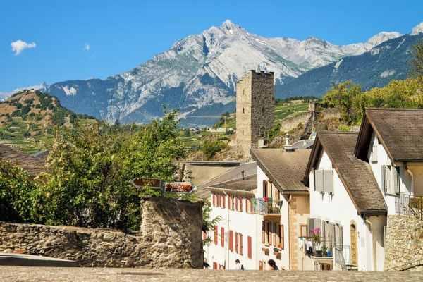 Sion, Valais, Switzerland © Erix2005 | Dreamstime.com