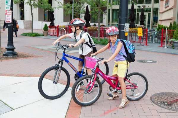 Children allowed to cycle with pedestrians in Switzerland