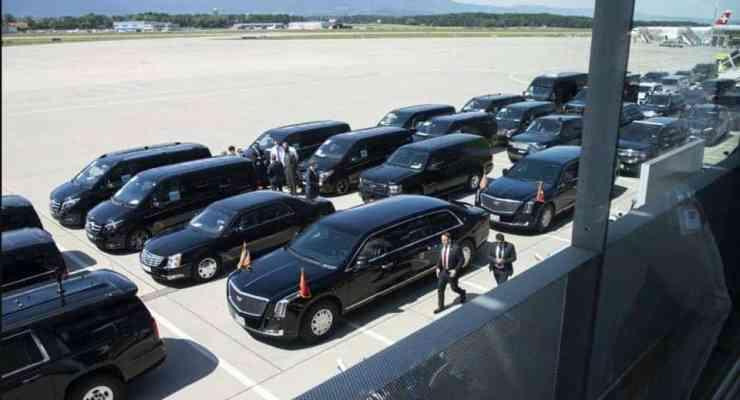 Biden and Putin shake hands in Geneva
