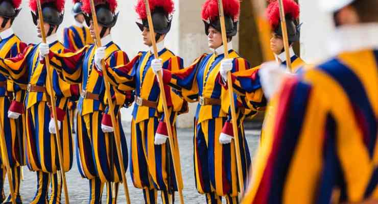 Swiss women may soon join men to guard the Pope