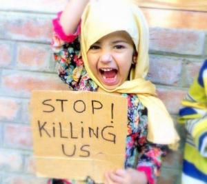 Guerra-in-Siria-Bambina-Siriana