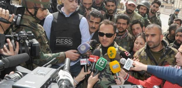 La città di Yabroud liberata dall'esercito siriano, i terroristi islamici in fuga.