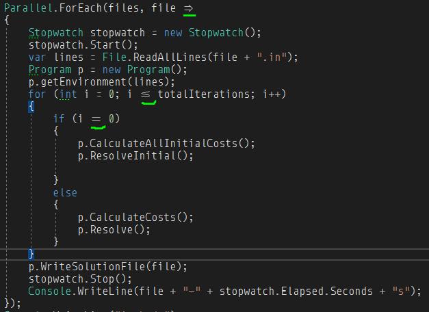 Un ejemplo de código donde se utiliza la tipografía Monoid