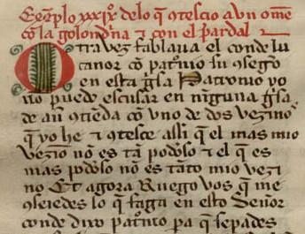 Un cuento, una moraleja:  el Conde Lucanor, de Don Juan Manuel