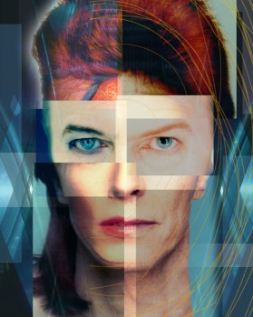 david bowie collage
