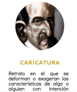 Ejemplo de texto descriptivo. La caricatura. Modalidades textuales