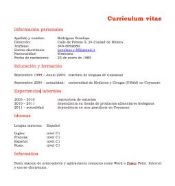 curriculum-vitae