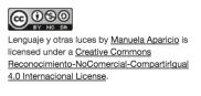 lenguaje y otras luces-creative commons