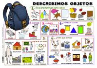Descripción imágenes DELE. Describir objetos