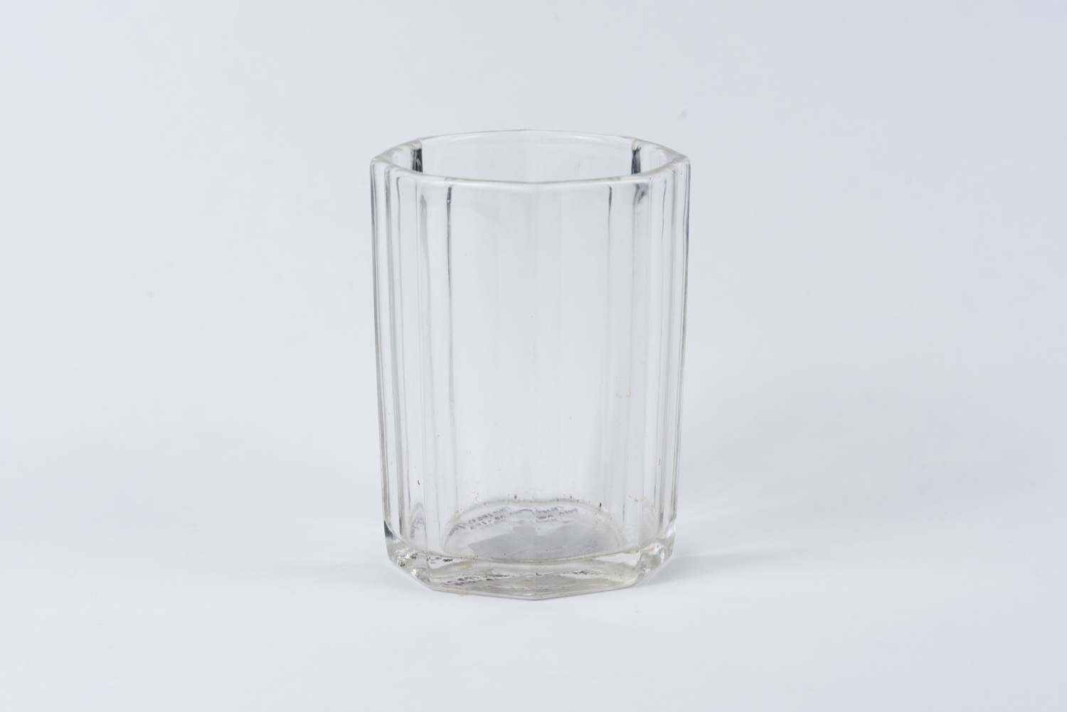 Tea glass, which was in personal use of V.I. Lenin during his stay in Switzerland in 1916-1917