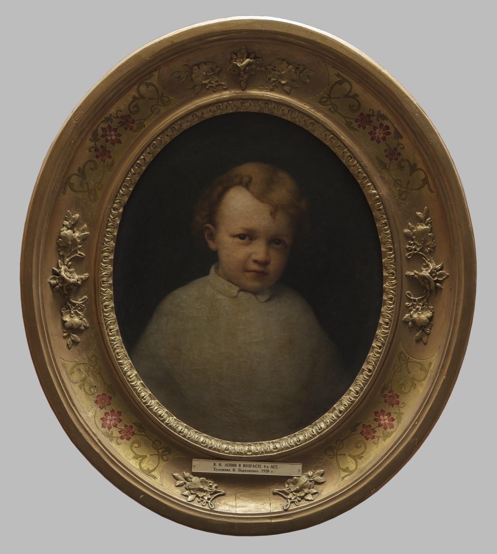 Картина «В.И. Ленин в возрасте 4-х лет»